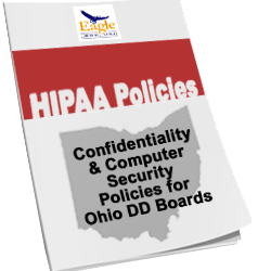 Eagle Releases 2018 Edition of HIPAA/FERPA/IDEA Policies and Procedures for Ohio DD Boards